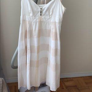 Burberry cotton summer dress small 2/4